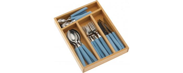 CUTLERY SET WITH 24 PIECES