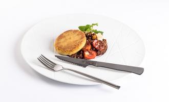 Receitas Nicul: Hambúrguer de Grão com Quinoa Vermelha