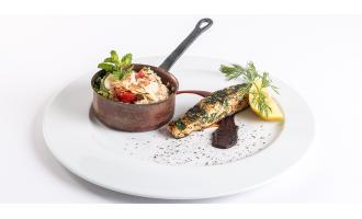 Receitas Nicul: Filetes de Salmão com molho Tamari e Salada de Quinoa