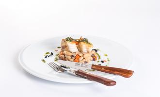 Receitas Nicul: Tamboril e feijão branco ao pesto